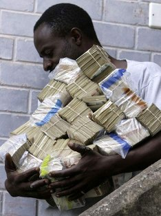 Hyperinflation in 2008 caused widespread financial woes throughout Zimbabwe
